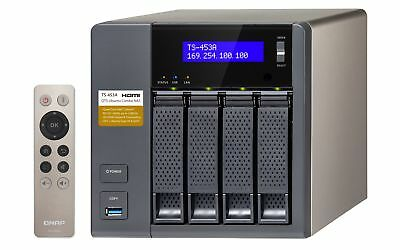 NEW! QNAP TS-453A-4G 24TB 4 x 6TB SGT-IW 4 Bay Desktop NAS with 4GB RAM