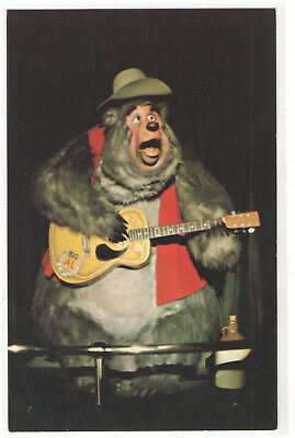 FMRA WALT DISNEY WORLD COUNTRY BEAR JAMBOREE BIG AL POSTCARD sg628