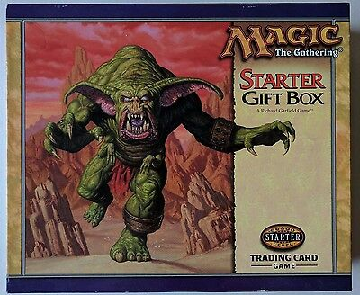 Magic the Gathering Starter Gift Box Set MTG 1999 Almost Complete - NO VHS TAPE