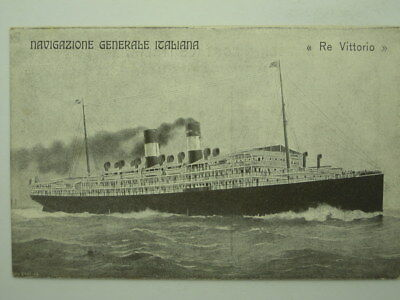 Navy Steamship Ss-Re Vittorio-O9C-S10114