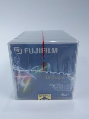 FUJIFILM DLT IV TAPE CARTRIDGES  40GB 80GB  5 count for DLT 8000, 7000, 4000