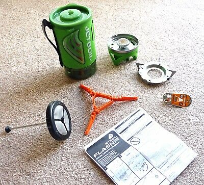 Jetboil Flash Java Kit Camping Stove & Coffee Press Portable Cooking System