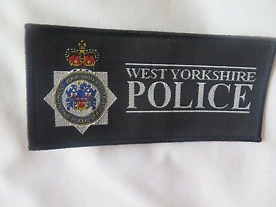 West Yorkshire Police Cloth Patch.