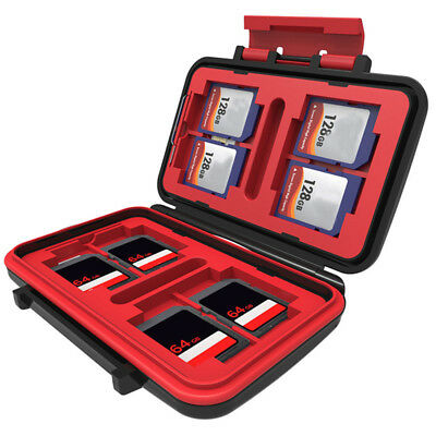 Shatter-proof Waterproof Memory TF SD Card Case Storage Cases of Various Cards