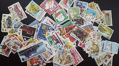 Job Lot  old stamps 100x  ISLE OF MAN  -  RARE