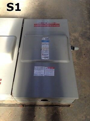 Gould I-T-E F355 Vacu-Break Fusible Safety Disconnect Switch 400A 600V 480V 3PH