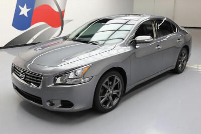2014 Nissan Maxima  2014 NISSAN MAXIMA 3.5 SV SPORT TECH SUNROOF NAV 39K MI #482876 Texas Direct