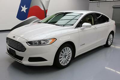 2014 Ford Fusion SE Hybrid Sedan 4-Door 2014 FORD FUSION SE HYBRID BLUETOOTH NAV REAR CAM 33K #240839 Texas Direct Auto