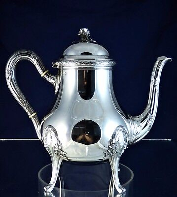 Wonderful, Antique, Silver Teapot, Paris 1860!!!