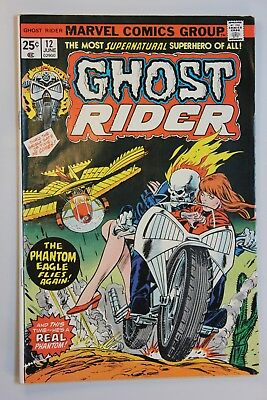 Ghost Rider #12 (1975) - Solid Fine, OWP