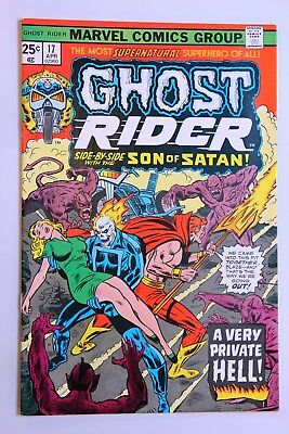 Ghost Rider #17 (1976) - VF, OWP