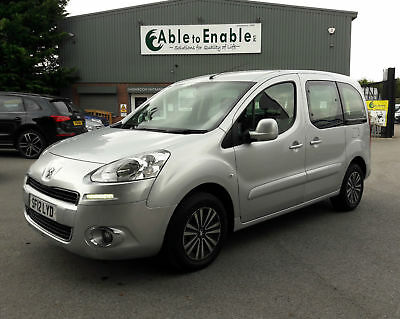 Peugeot Partner Tepee Wheelchair Accessible Adapted Mobility Car WAV