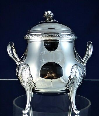 Wonderful, Antique, Silver Bonbonier, Paris 1860!!!
