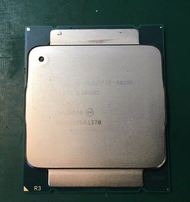 Intel i7 5820k processor, used in perfect working order unboxed