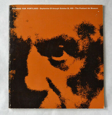Picasso For Portland Portland Art Museum catalogue modern art 1970 sculpture
