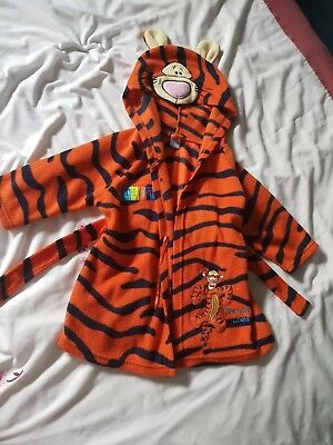 Baby dressing gown Tigger Disney 9-12 months.