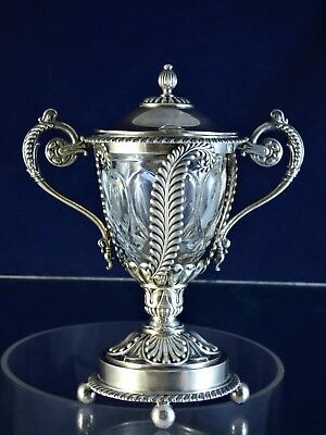 Gorgeous, Antique, Silver Mustard Pot, Paris 1810!!!