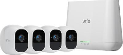 Arlo - Pro 2 Security Camera System, 4-Camera Kit, Wire-Free, 1080p, Weather ...