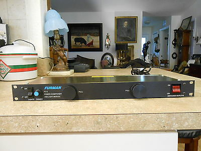 Furman PL8 Power Conditioner and Light Module Tested and Working!