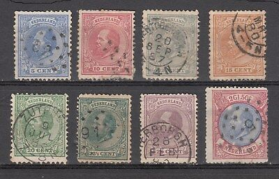 Netherlands William Iii 1872-88 Used