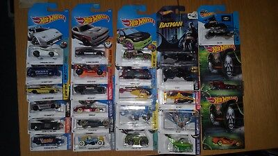 Hot Wheels collection / bundle / job lot - batman, movie cars, Star Wars, etc.