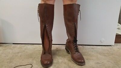 Vintage Strathcona Riding Boots, Rcmp Style.  Mens 9D