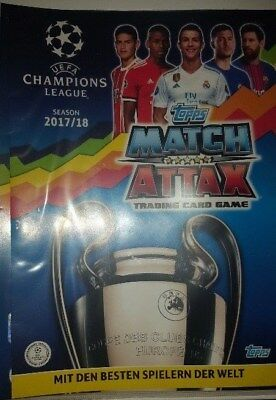 Match Attax Champions League 17 18 limited edition alle Basekarten Nordic Game