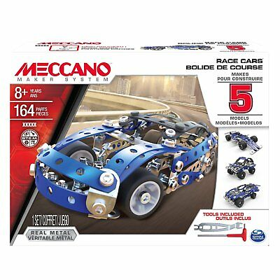 "Meccano 6028434 ""5 Model Set Car"" Building Set"