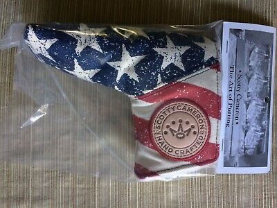 Scotty Cameron Ryder Cup Stars & Stripes Old Glory PUTTER Cover NEW IN BAG