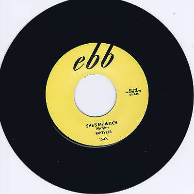 Kip Tyler - She's My Witch / Rumble Rock - Hot Cult Rockabilly Repro
