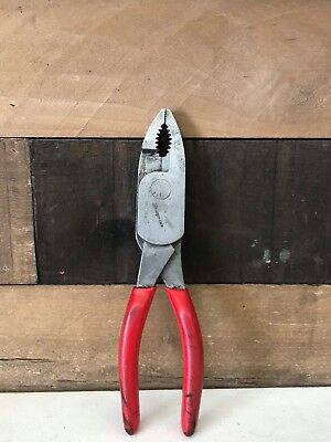 "Snap On Hl138Acp 7-7/8"" High Leverage Pliers"