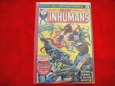 The Inhumans  #1 ~ Oct 1975 ~ Marvel Comics ~ Blastaar