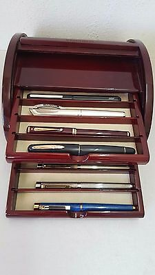 Visconti Storage Display Showcase Pen Tray ~ Excellent!!!