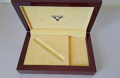 Visconti Wooden Pen Box ~ Excellent!!!