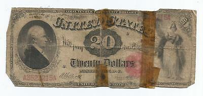 Series of 1880 $20 United States Note Good Candidate For Low Grade Registry