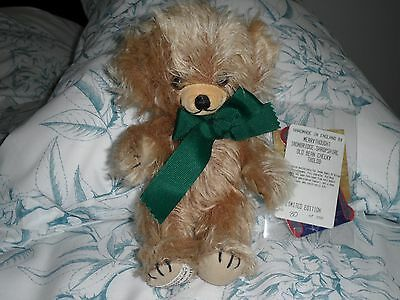 "Merrythought Limited Edition Cheeky bear. ""OLD BEAN"""