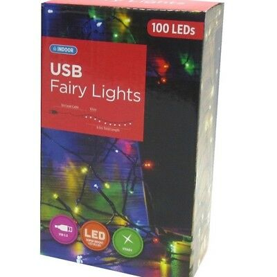 USB LED Fairy Lights 1M/10M Bright String Christmas Tree Window Decoration Party