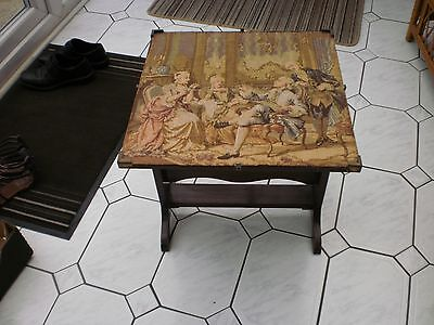 antique side table used