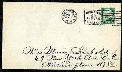 11 January 1926 Benjamin Harrison FDC #622
