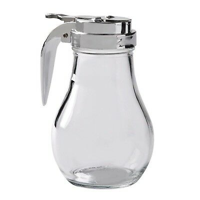 Thunder Group GLTWSY014 Syrup Dispenser with Cast Zinc Top 14-Ounce 1 Pack