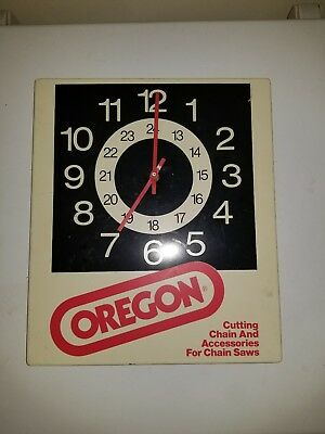 Oregon Dealer Clock Vintage