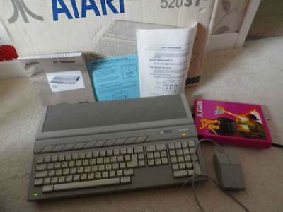 Atari ST 520 'PLUS' Discovery XTRA Pack with 1Mb Ram - Complete