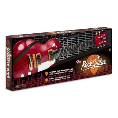Red Rock Electric Guitar - Steel Strings Toy Musical Instrument Tobar (Age 6+)