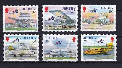 Jersey 2012 75th Anniversary of Jersey Airport MNH (6)