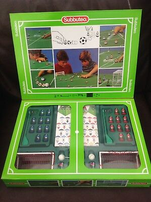 SUBBUTEO Football Table Soccer Game 60140 Boxed Set NEW