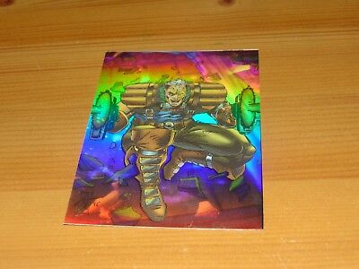 X-MEN SERIES 2 HOLOGRAM CARD no H-1 / WOLVERINE   Trading Cards