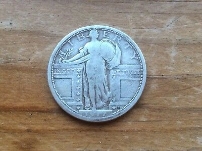 1917  Standing Liberty Quarter, Type I, FREE SHIPPING lot 2  @@ Must see@@
