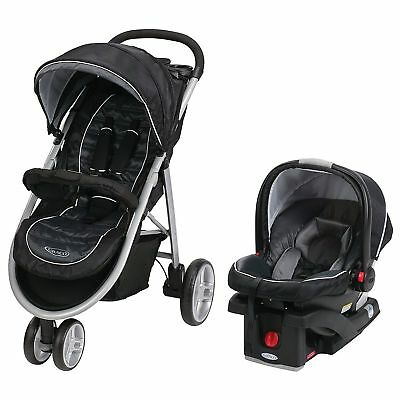 OpenBox Graco Aire3 Click Connect Travel System, Gotham