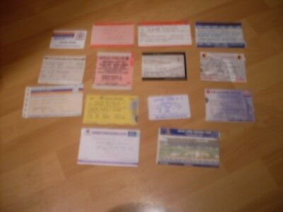 14 match day tickets   all different