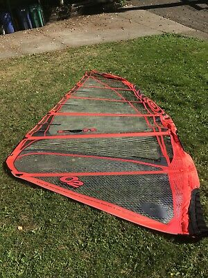 O2 The Loft Windsurfing Sail Red